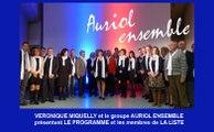 Diaporama: Présentation Programme et Liste Auriol Ensemble 13-03-2014