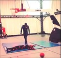 NBA 2k15 - NBA 2k15 Motion Capture Contact Dunk Animation Behind the Scenes #2