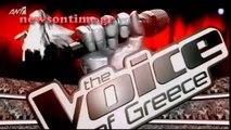 newsontime.gr - The Voice Η  είσοδος του Γιώργου Λιάγκα του τρίτου Battle!