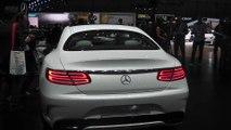 Mercedes-Benz S-Class Coupe at Geneva Motor Show 2014