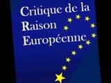 Présentation de Critique de la Raison Européenne - CRE Sciences Po - Association étudiante eurocritique