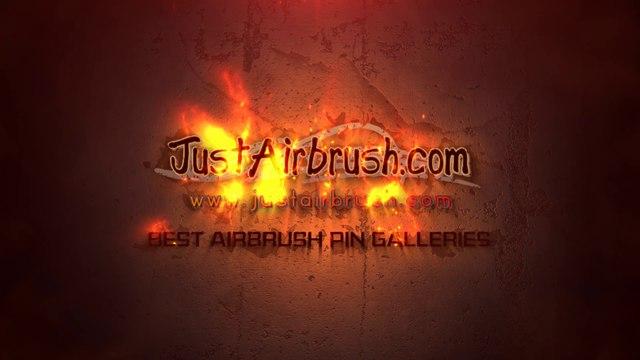 Airbrush - The Dark side