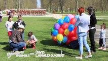 """Lacher de Ballons au Parc de la Colombière de Dijon offert par David Lanaud du Gray et son l'équipe de """"Dijonnons Ensemble !"""""""