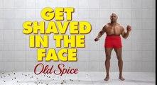 Crews Old Spice Terry se faire raser dans le visage - Crews Old Spice Terry Crews