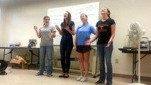 4 filles chantent un medley de 3 chansons.... Enorme!