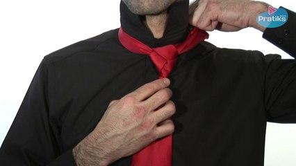 Wie bindet man eine Krawatte  - Der Trinity-Knoten