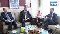 Le ministre délégué auprès du ministre de l'Intérieur Charki Draiss s'est entretenu lundi 17 mars 2014 à Rabat avec le secrétaire d'Etat espagnol à la Sécurité, Francisco Martinez.