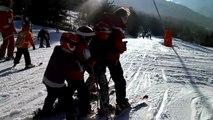 Journée de ski à Val Cenis - La chenille