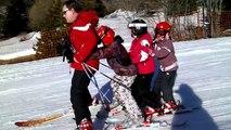 Journée de ski à Val Cenis - La chenille 2