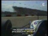 Ayrton Senna et Alain Prost TF1