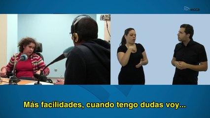 Entrevista radiofónica a Julia García Benítez y África García-Cano Martín