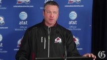 Video: Avalanche coach Patrick Roy returns to Montreal