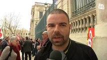 Pacte de responsabilité : Manifestation à l'appel des syndicats CGT, FO, FSU et Solidaires
