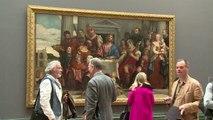 Véronèse exposé à la National Gallery de Londres