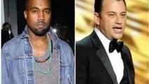 Kanye west Goes off On Jimmel Kimmel In twitter feud -  Kimmel did Spoof -  West Vs  Kimmel