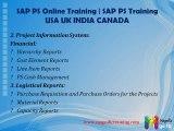 Sap PS(PROJECT SYSTEM)Online Training freedemo Classes@India%Bangalore%Delhi