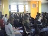 Landrecies Lycée Dupleix visite du député Christian Bataille