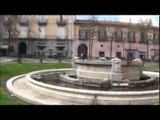 Aversa (CE) - Piazza Vittorio Emanuele torna ad essere una schifezza (18.03.14)