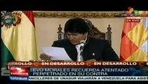 Morales: Estados Unidos utiliza grupos armados para desestabilizar