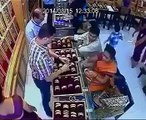 A women thief is very cleverly watch video.