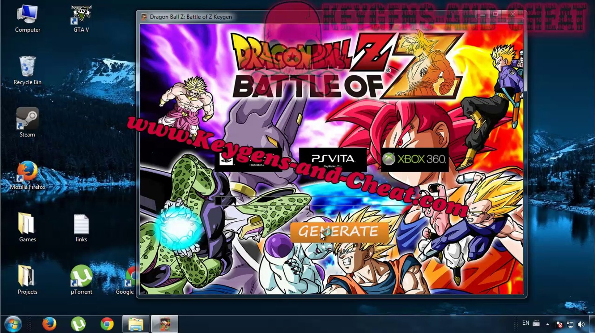 DragonBall Z Battle Of Z Keygen - Vidéo dailymotion