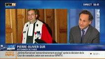 BFM Story: Affaire des écoutes de Nicolas Sarkozy: François Hollande reçoit les avocats et les magistrats à l'Élysée - 19/03