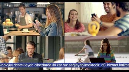 Hem en yaygın, hem iki kat hızlı internet Turkcell'de!