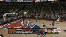 NBA Live 2005 HD on Dolphin Emulator (Widescreen Hack)