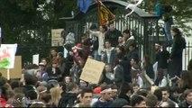 Education : Manifestation au Lycée Rosa Parks (Montgeron)