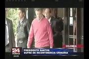 Presidente de Colombia se orinó en pleno discurso de lanzamiento de su campaña