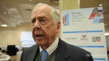 Video: T. Boone Pickens in Surrey raw clips