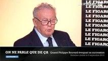 """Quand Philippe Bouvard évoquait son successeur aux """"Grosses Têtes"""""""