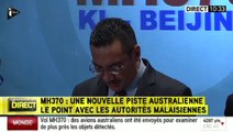 MH370 : le ministre des transports malaisien confirme les recherches au large de l'Australie