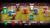 L'équipe type des 8es de finale retour de la Ligue des Champions