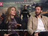 Interview (vostfr): Scarlett Johansson (Captain America) aimerait être Beyoncé ! Skyrock