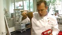 Chef Profiles and Recipes - Jacques Torres Shows How to Temper and Store Chocolate