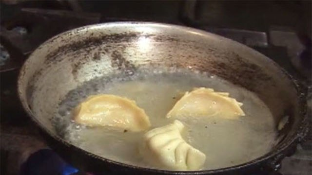 Holidays with Master Chefs - Chef Anita Lo Shows How  to Steam and Pan-Fry Dumplings