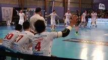 Handball : Montpellier s'impose sur le fil à Aix-en-Provence (13), 28 à 29