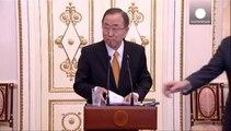 Faccia a faccia a Mosca tra ban Ki Moon e Vladimir Putin