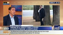 "Duel Direct Gauche - Direct Droite: La gauche s'indigne et la droite salue la riposte de Nicolas Sarkozy dans ""Le Figaro"" - 20/03"