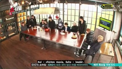 131128 EXO Showtime EP1 {ENG SUB}