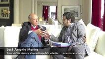 José Antonio Marina, autor de 'Los miedos y el aprendizaje de la valentía'. 20-3-2014