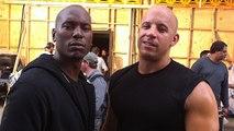 Fast & Furious 7 - Tyrese Gibosn Vin Diesel Talk Paul Walker - Paul Walker Death