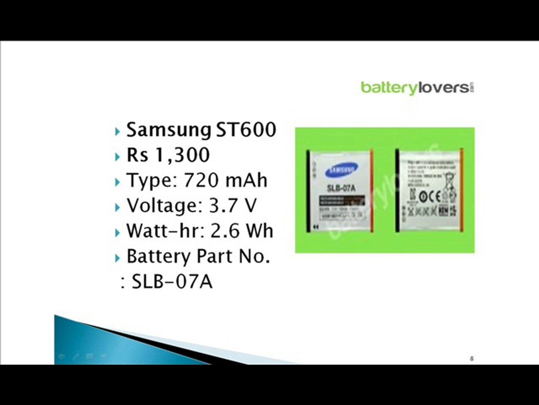 Samsung Battery, Samsung Batteries, Nikon Battery, Nokia Battery Batterylovers.com