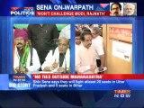Shiv Sena dares BJP in UP