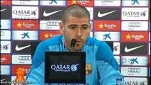Valdés espera conseguir los tres puntos en el Bernabéu