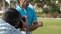 Golf Digest Cover Shoots - Behind the Scenes With Alvaro Quiros