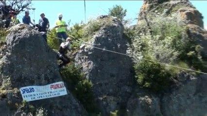 FFS SSF : Tyrolienne Millau 2013