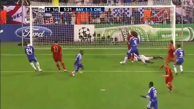UEFA Champions League 2012 Final Bayern Munich vs FC Chelsea Full Match