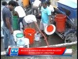 Chiclayo: Recorte de servicio de agua genera malestar en lambayeque 20 0314